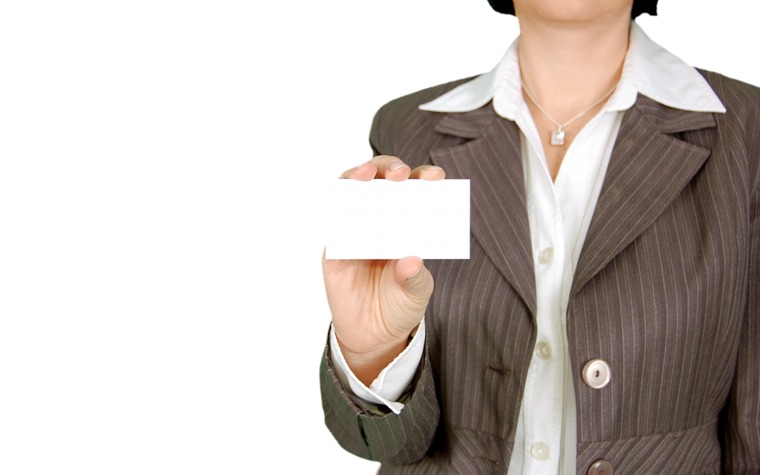 Are business cards an old-fashioned practice or still a good idea for businesses?
